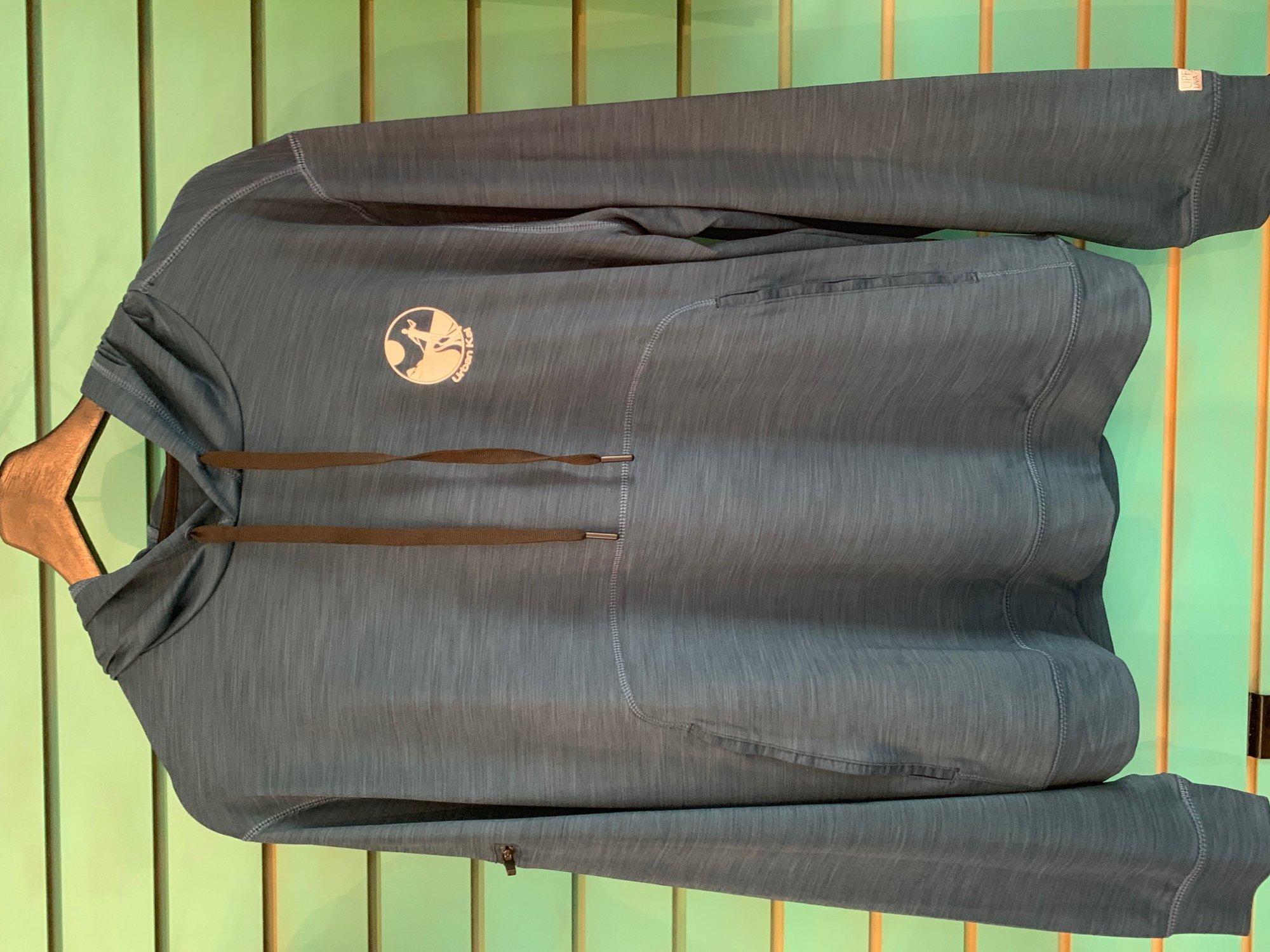 UK Pull-Over Hoodie Sun Shirt Dark Teal
