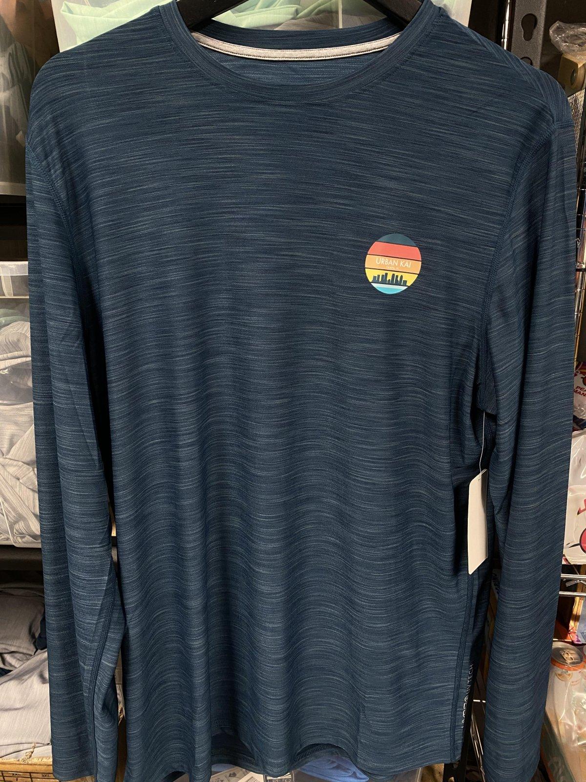 UK L/S Unisex Sun Shirt Blue '21