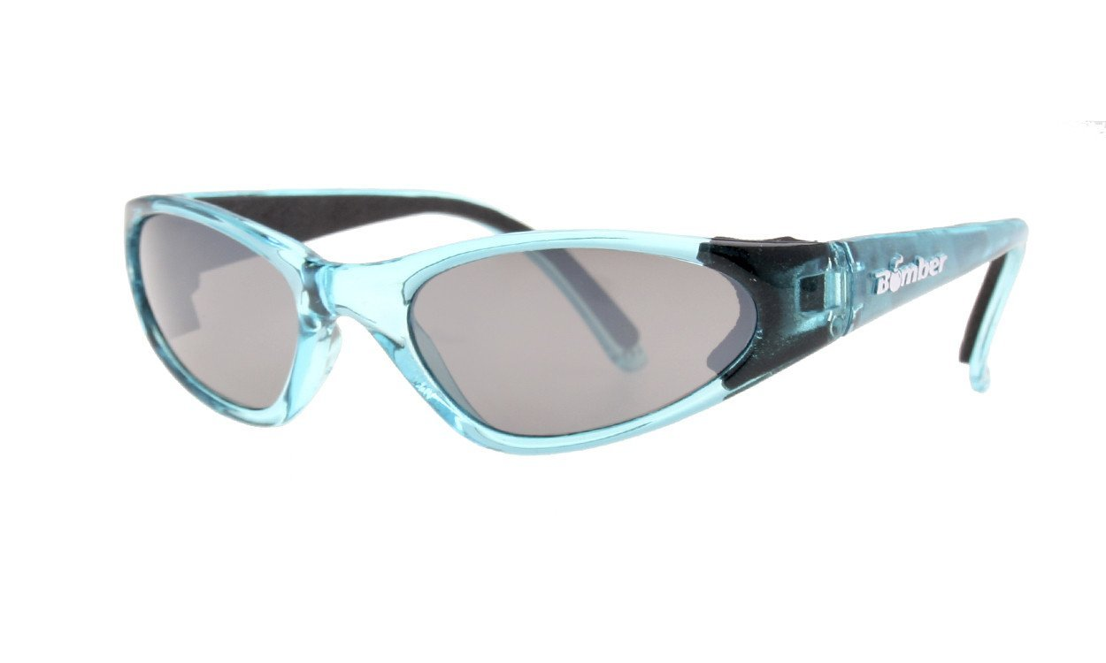 Bombers K-Bomb Crystal Blue Frm/ Mirror Lens