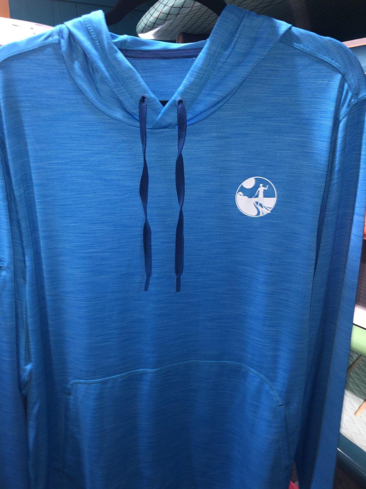 UK L/S Hooded Tech Shirt Royal '21