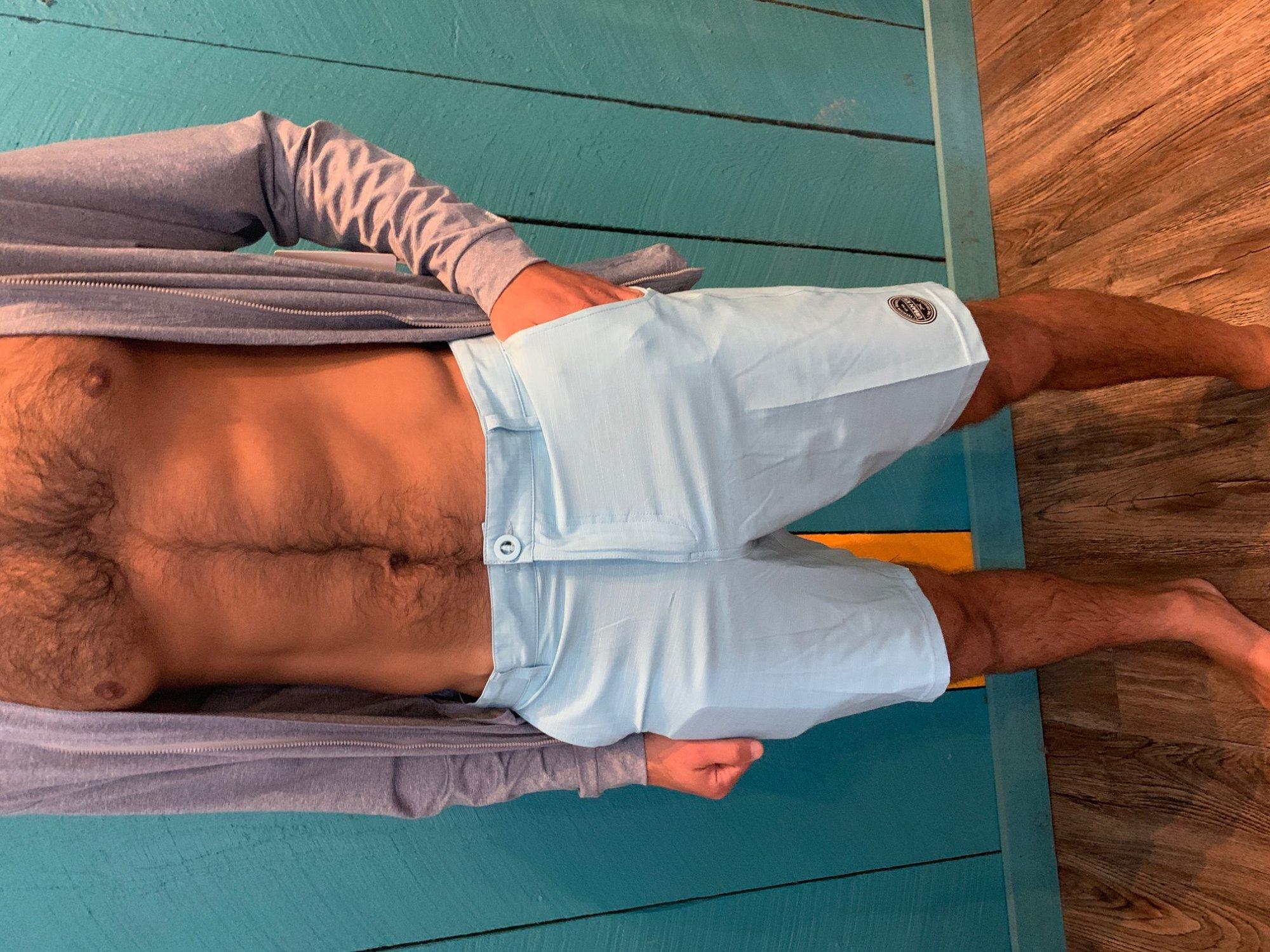 UK Shorts Light Blue