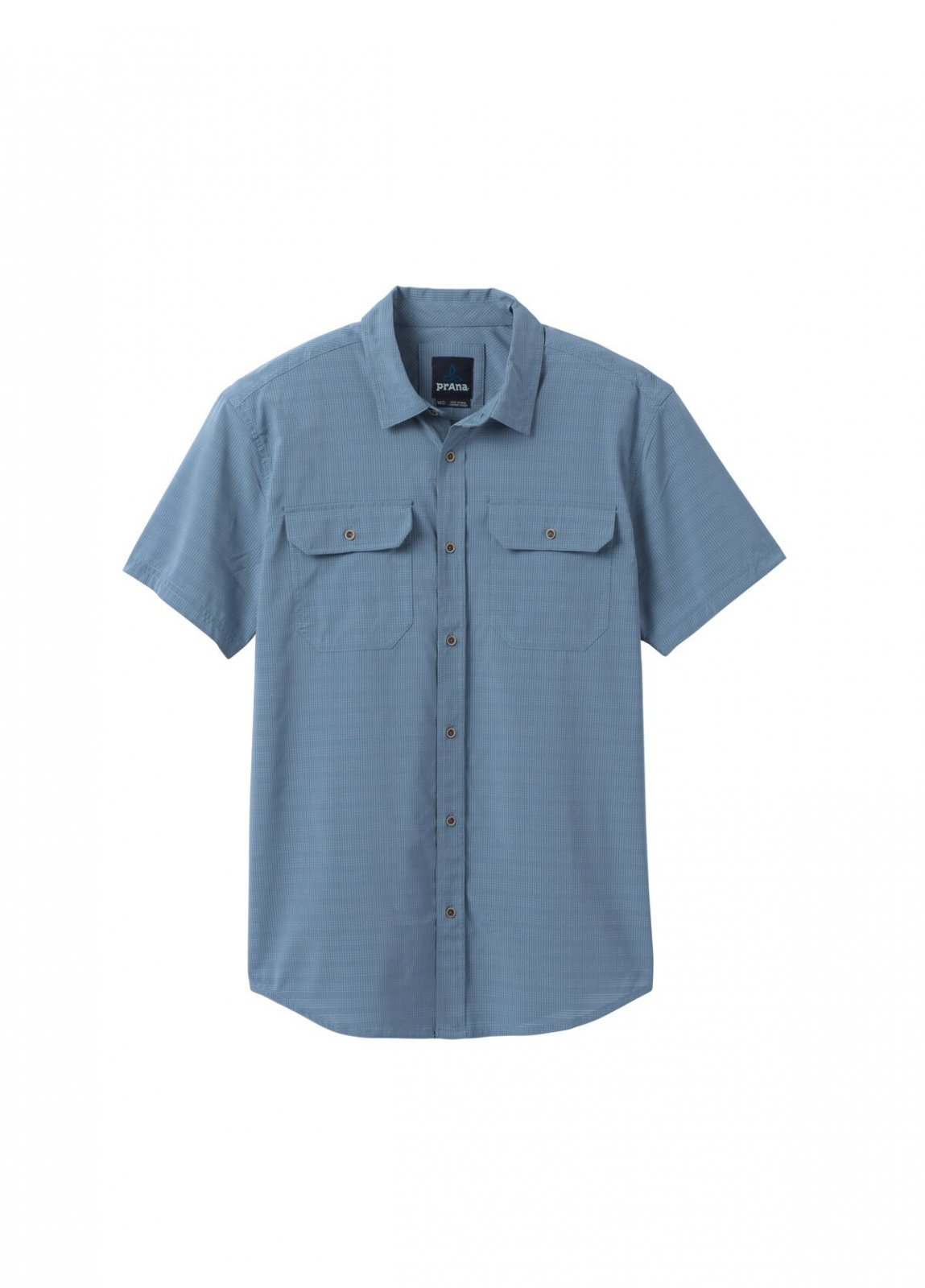 PrAna Men's Cayman Shirt in Blue Note