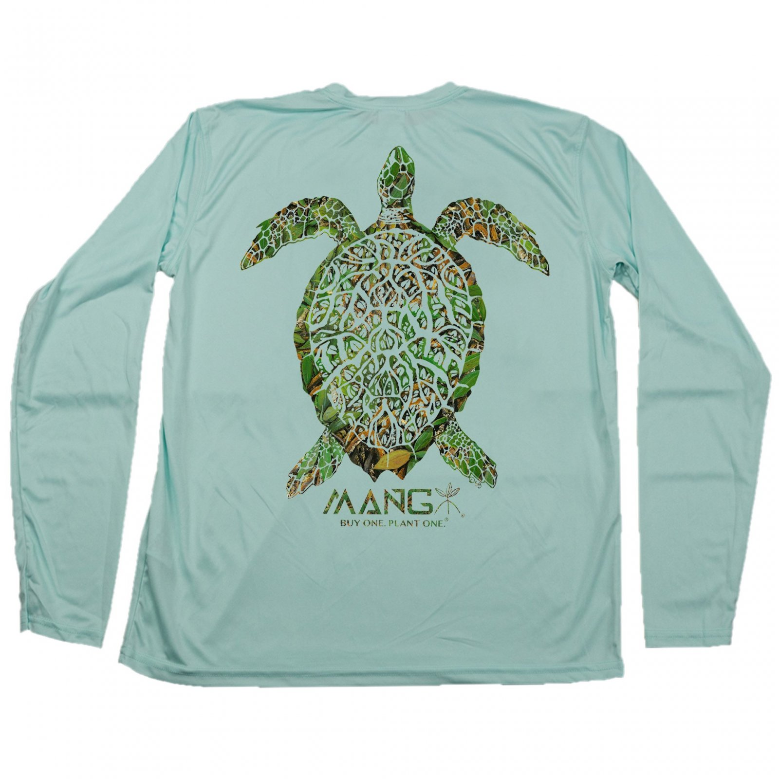 MANG Grassy Turtle L/S - Seagrass