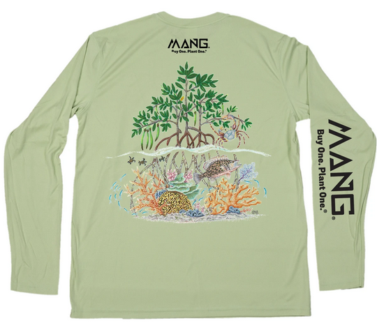 MANG Raise the Reef L/S - Sage