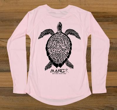 MANG Women's Turtley L/S - Pink