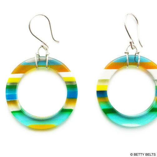 Surfite Hoop Earrings
