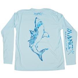 MANG Jaws L/S - Arctic Blue