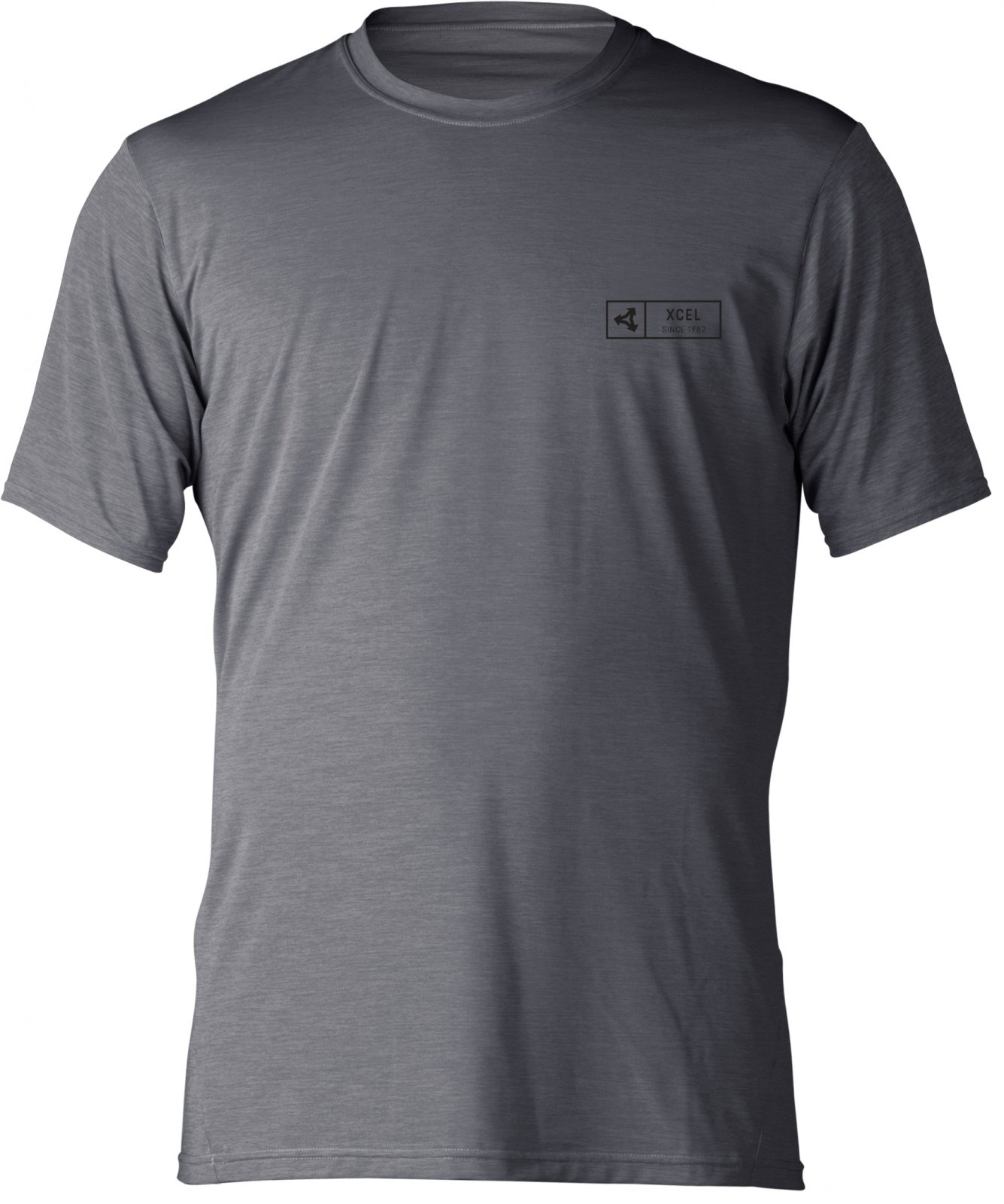 Xcel Pacific S/S Heather Alloy - M