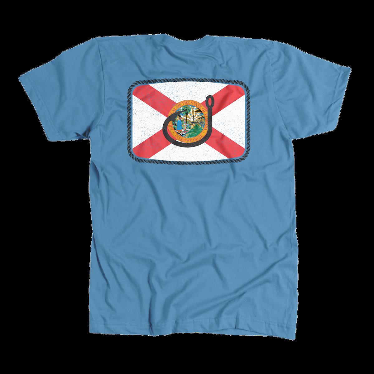 Avid Floridian T- Shirt Indigo