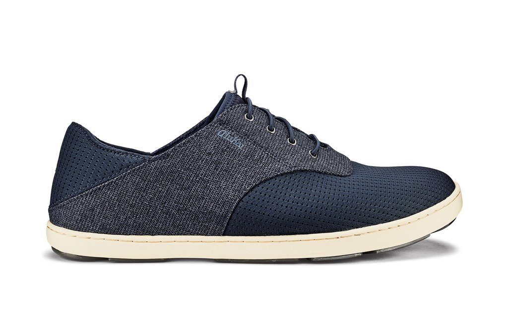OluKai Nohea Moku Men's Sneakers in Night/Night