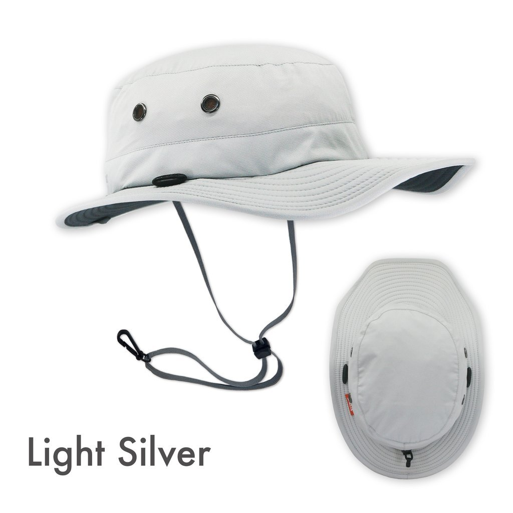Shelta Osprey Performance Sun Hat in Light Silver