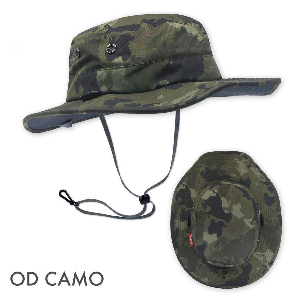Shelta Seahawk Performance Sun Hat in OD Camo