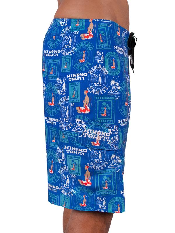Hinano Tepuatau Shorts - Blue - 34