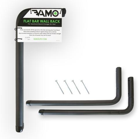 Vamo Flat Bar Wall Rack