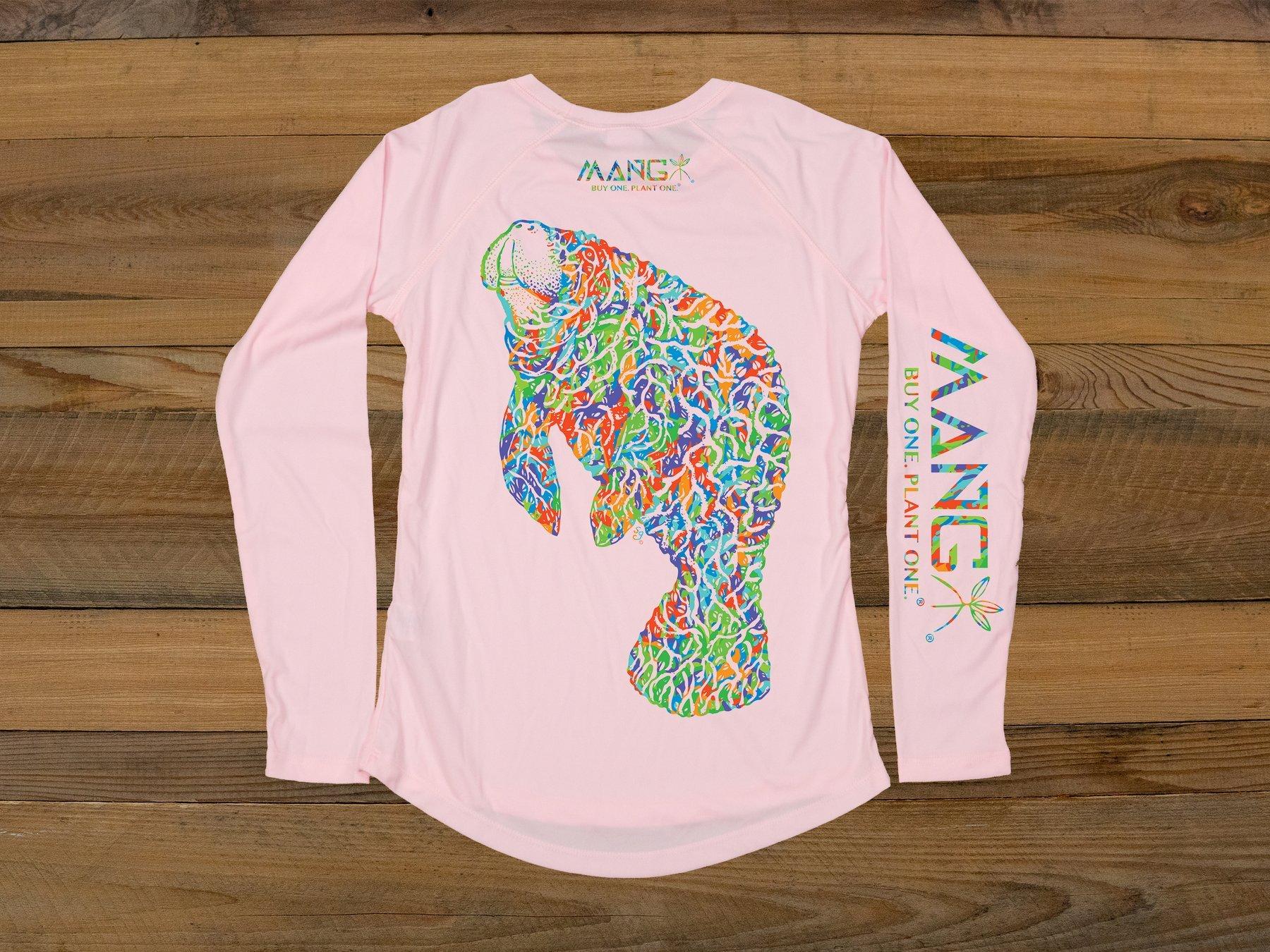 MANG Women's Bimini Twist Manatee L/S - Pink