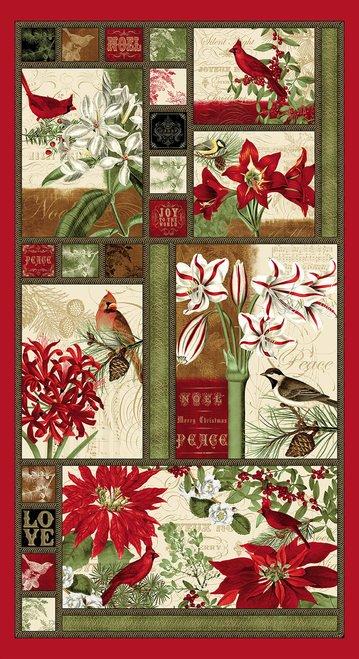 Yuletide Botanica Panel
