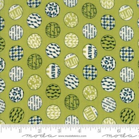 Authentic Etc Green w/circles