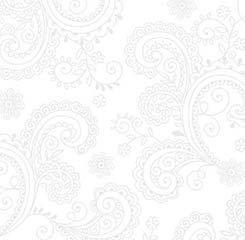 White Scroll  108 Wideback
