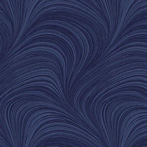 Wave Texture Navy