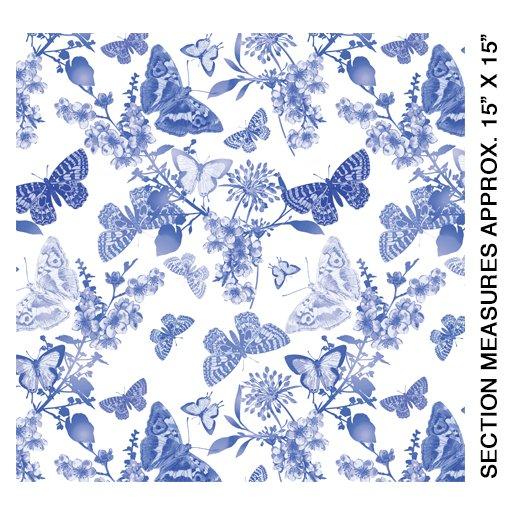 Butterfly Belle White/Maison
