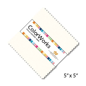 ColorWorks Solids Charm Sq