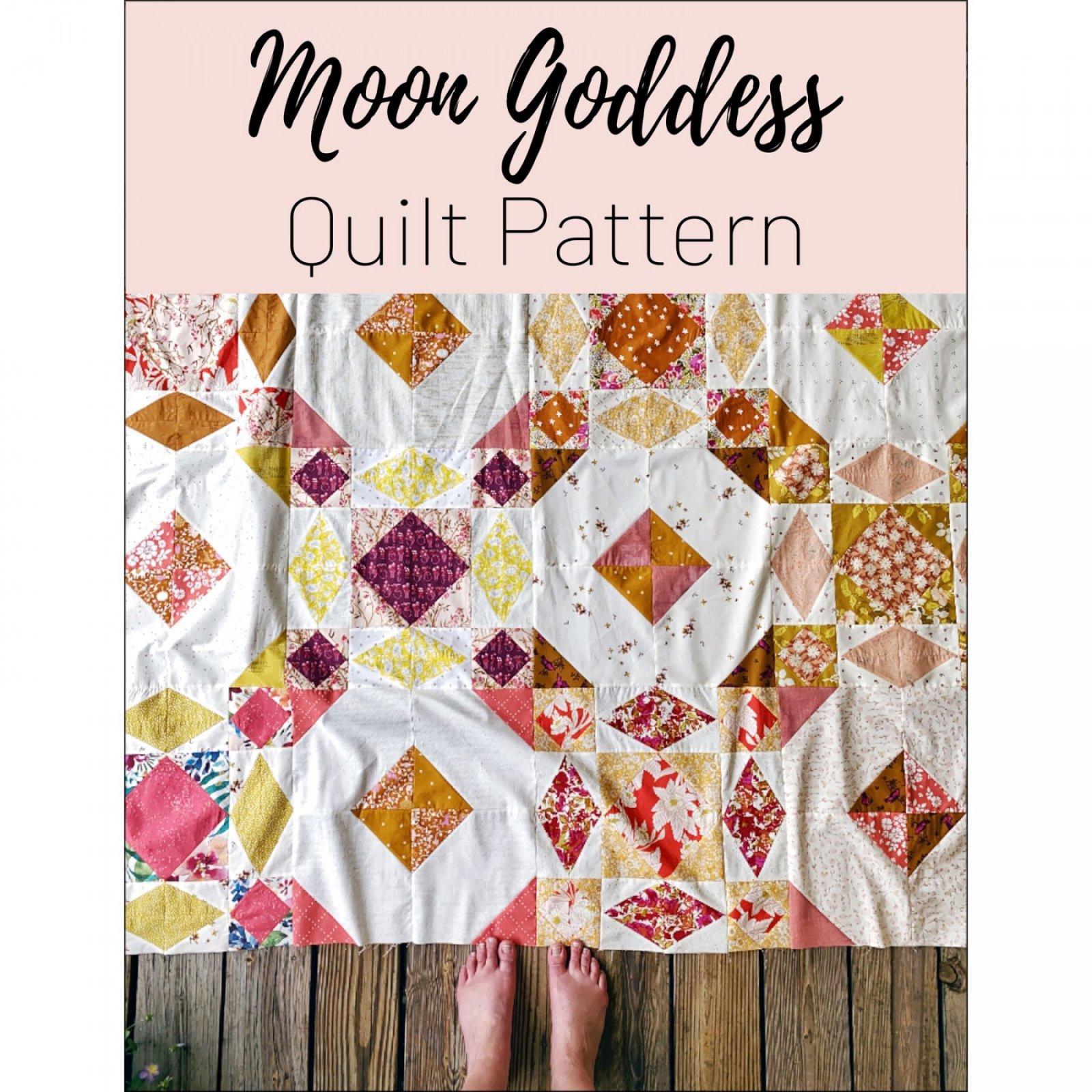 Moon Goddess Quilt Pattern