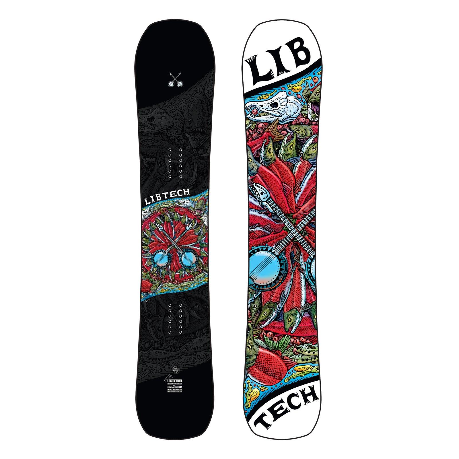 Lib Tech EJack Knife HP C3 Snowboard
