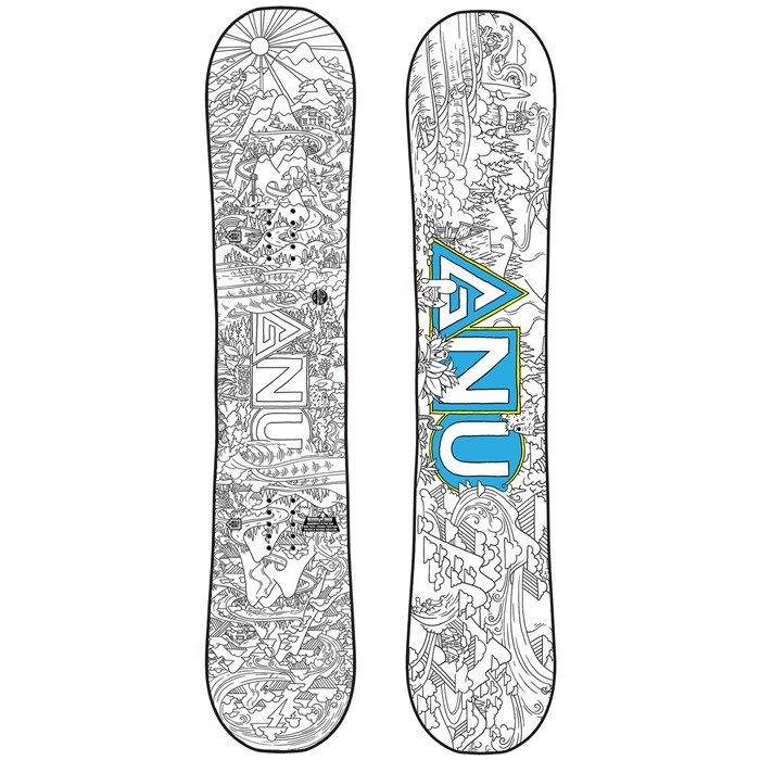 Gnu Asym Recess BTX Snowboard