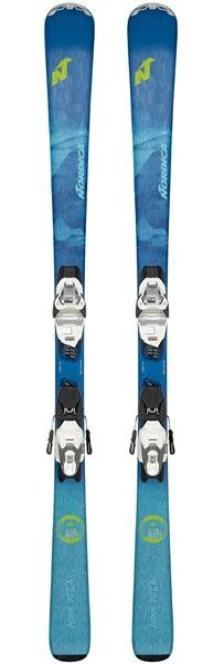 Nordica Astral 74 CA FTD Women's Skis w Bindings