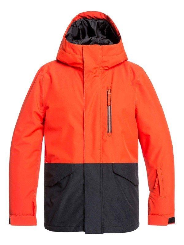 Quiksilver Mission Boys 8-16 Snow Jacket