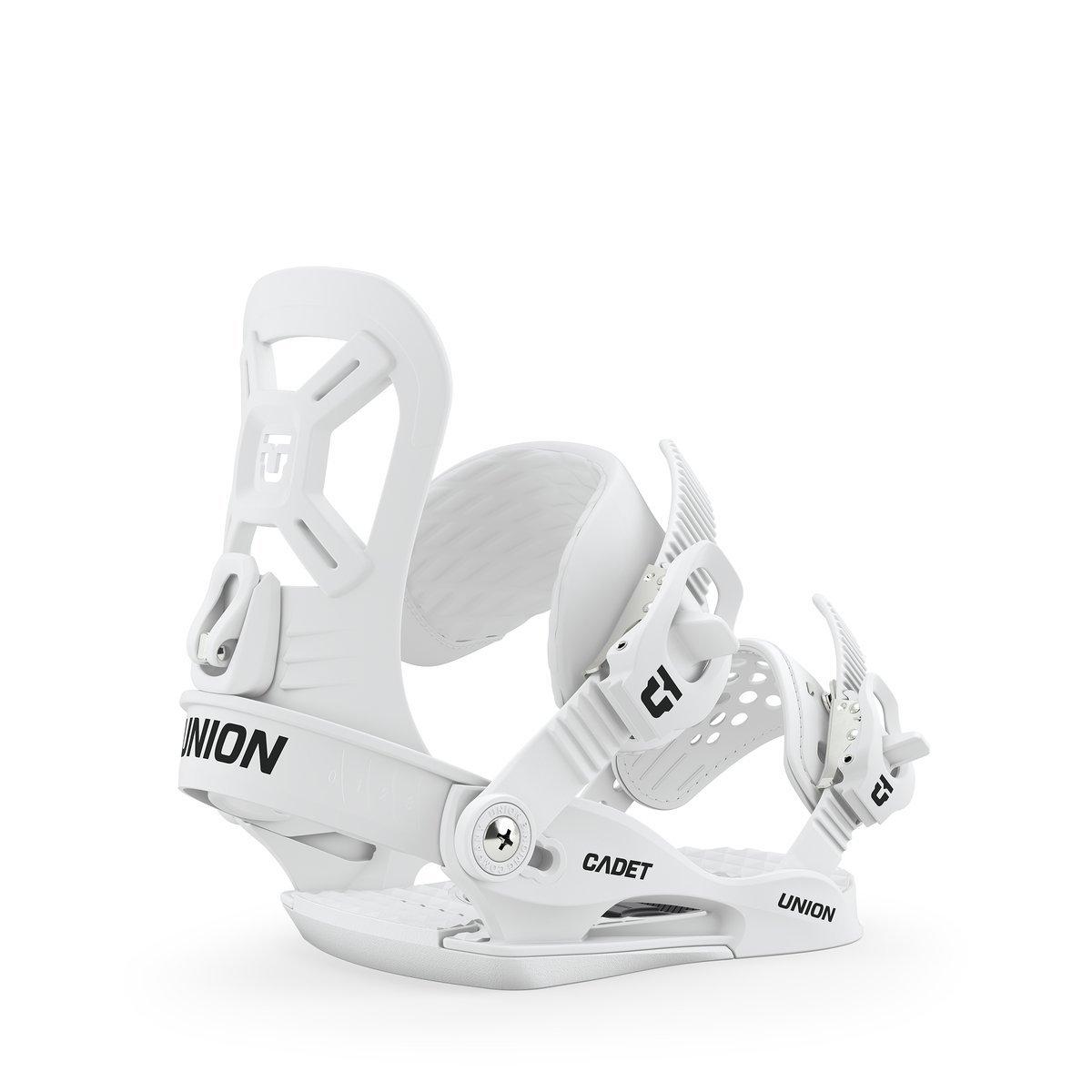 Union Cadet XS Snowboard Bindings - White
