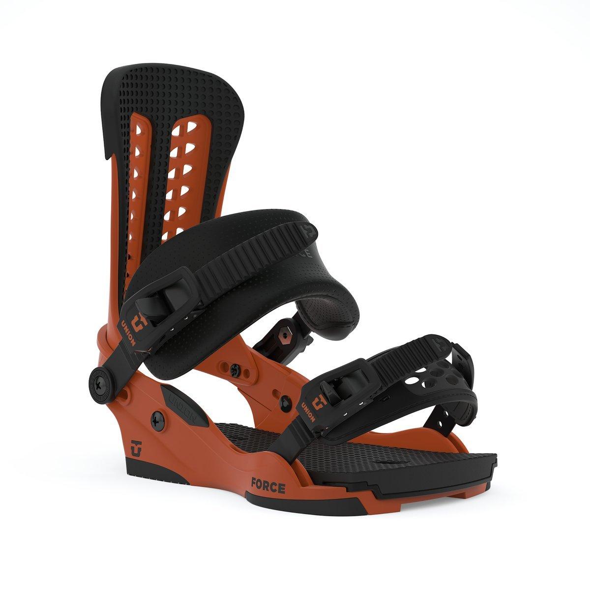 Union Force Snowboard Bindings - Burnt Orange