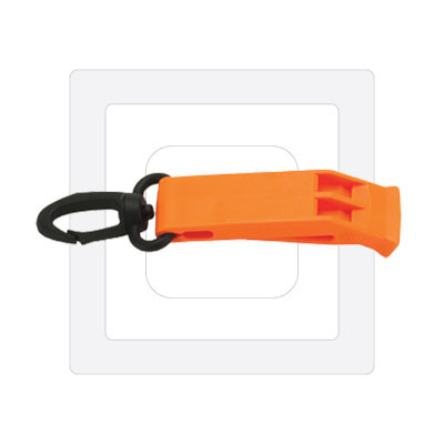 Safety Whistle w/ Clip