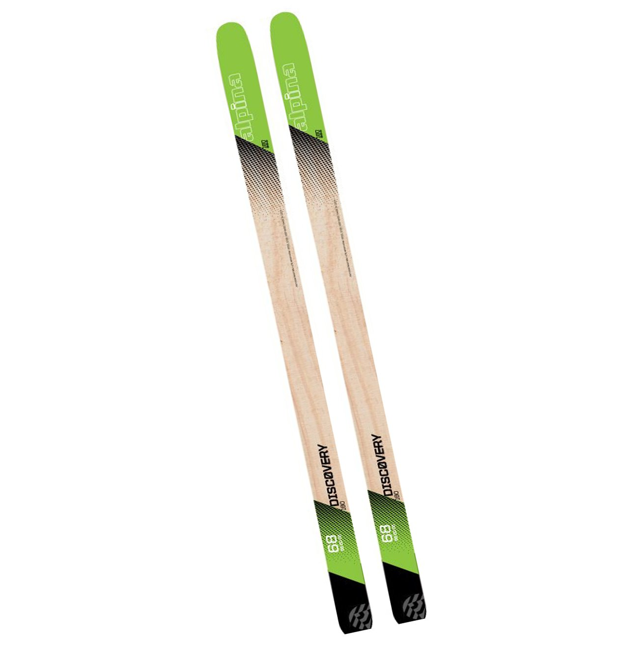 Alpina Discovery 68 Nordic Skis