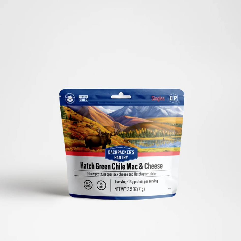 Backpacker's Pantry Hatch Green Chile Mac & Cheese