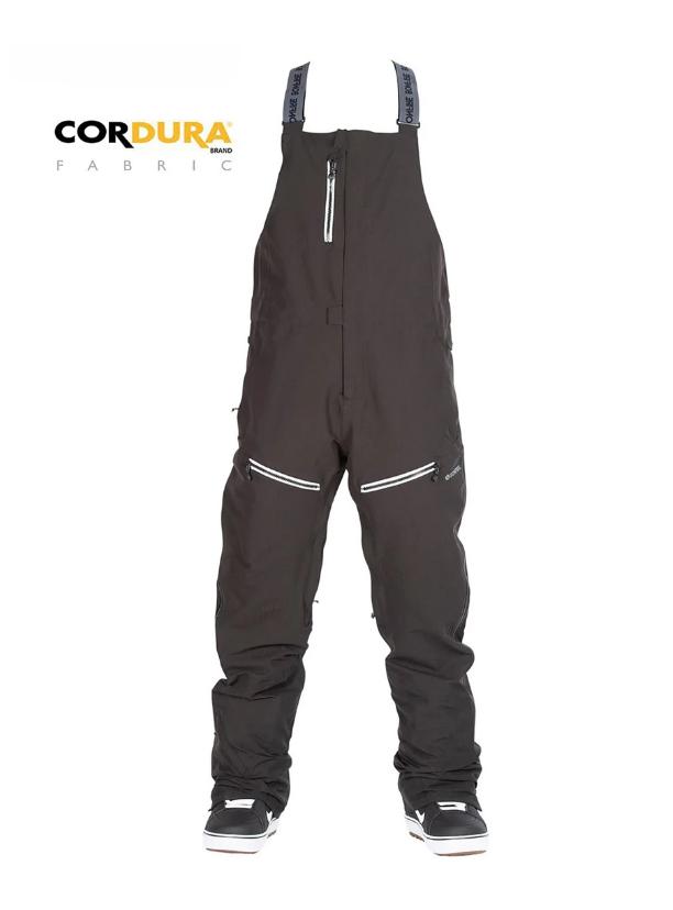 Bonfire Master 2L Stretch Cordura Bib Ski Pants - Black