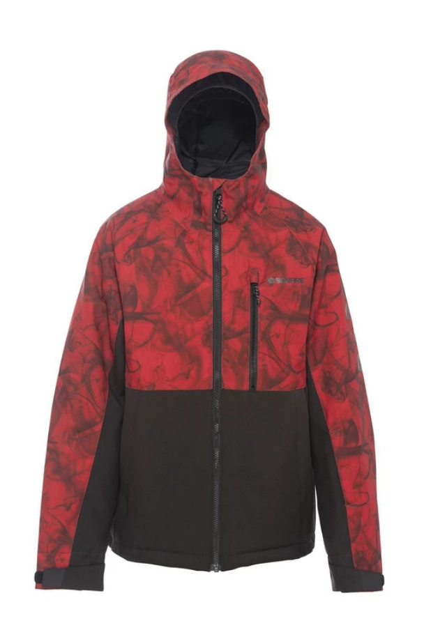 Bonfire Youth Pyre Insulated Snow Jacket - Red Hazard