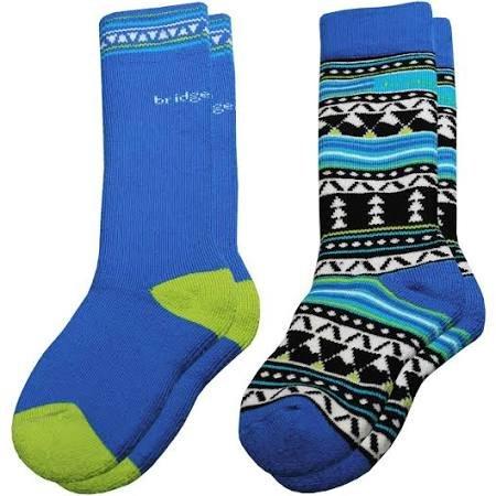 Bridgedale Merino Ski 2 Pack Kids Socks
