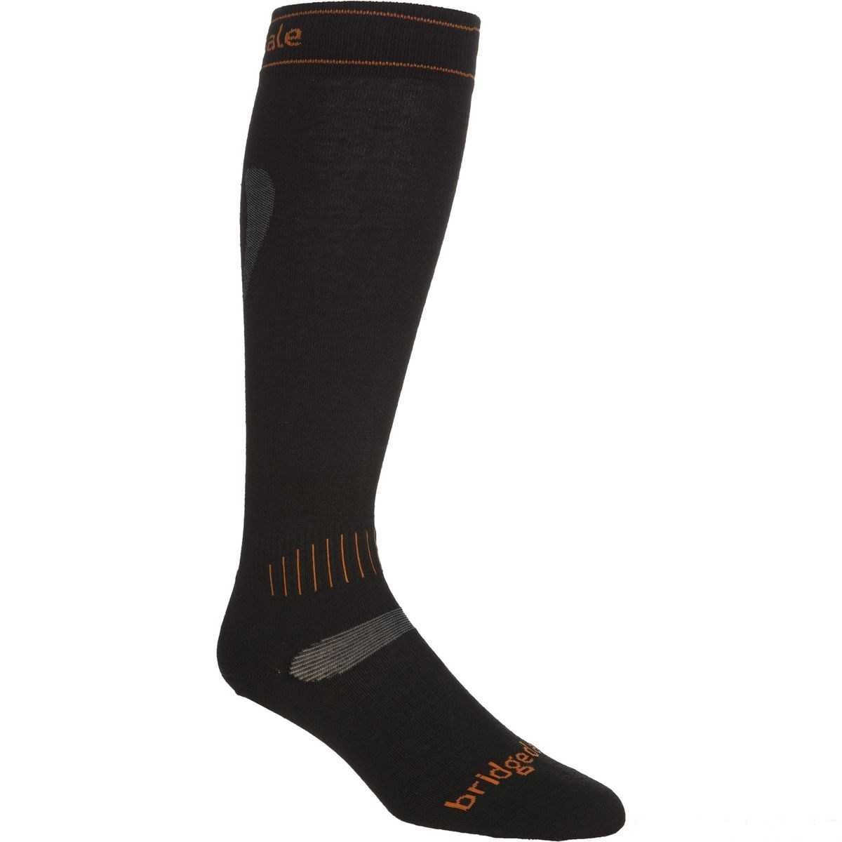 Bridgedale Ski Race Socks - Black