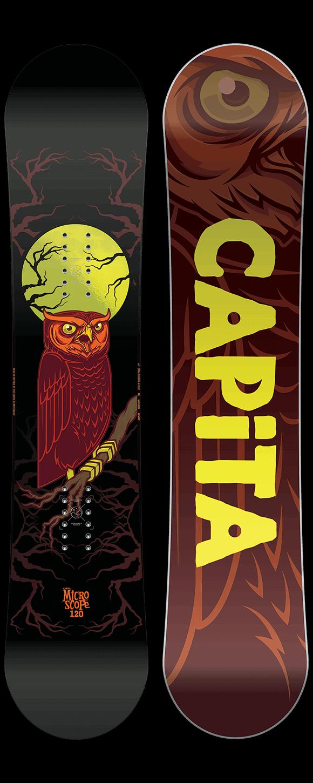 CAPiTA Micro-Scope Snowboard w/ Union Cadet Bindings