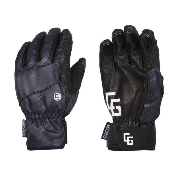 CG Habitats Park Gloves - Pinstripe Black