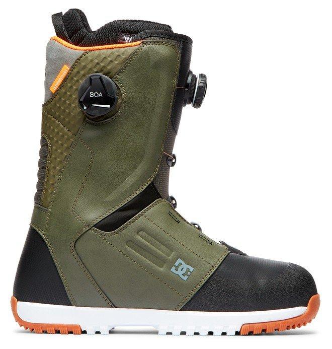 DC Men's Control Snowboard Boots - Olive Camo