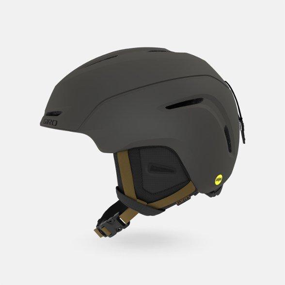 Giro Neo MIPS Snow Helmet - Metallic Coal / Tan