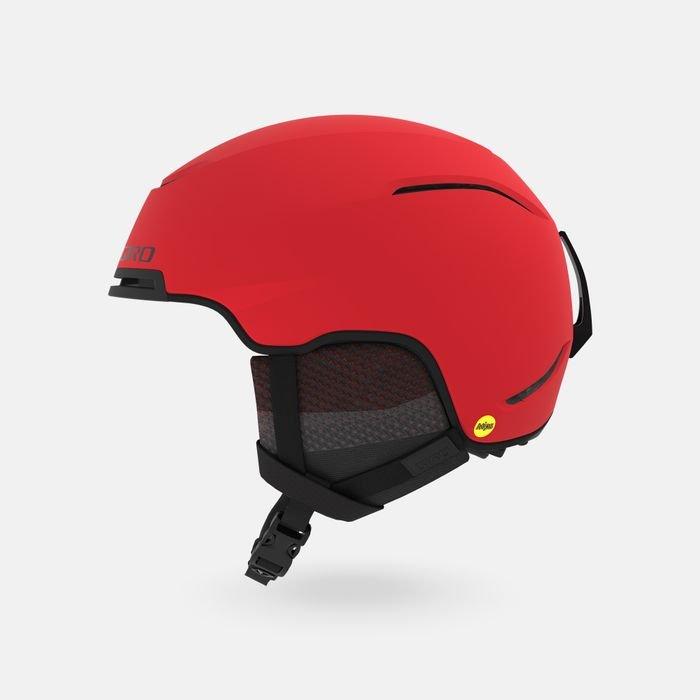 Giro Jackson MIPS Snow Helmet - Matte Bright Red / Black