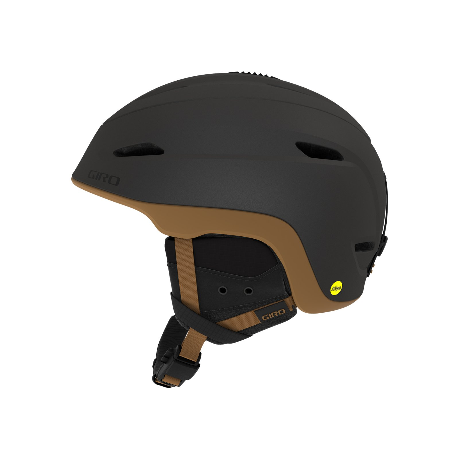 Giro Zone MIPS Helmet - Metallic Coal / Tan