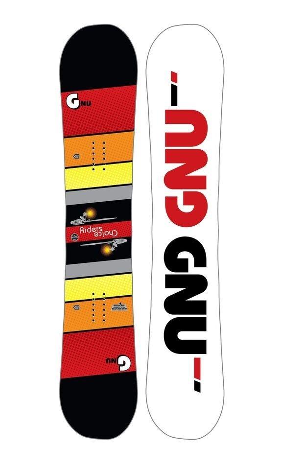 Gnu Asym Rider's Choice C2X Snowboard