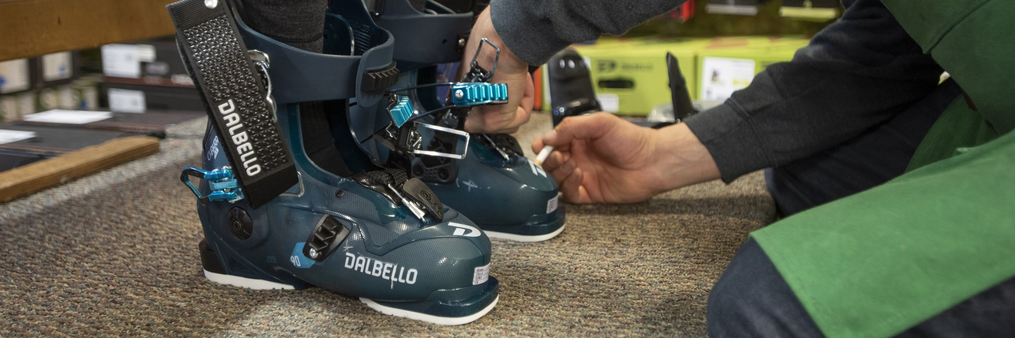 Custom Boot Fitting at West Seattle Ski and Snowboard Shop