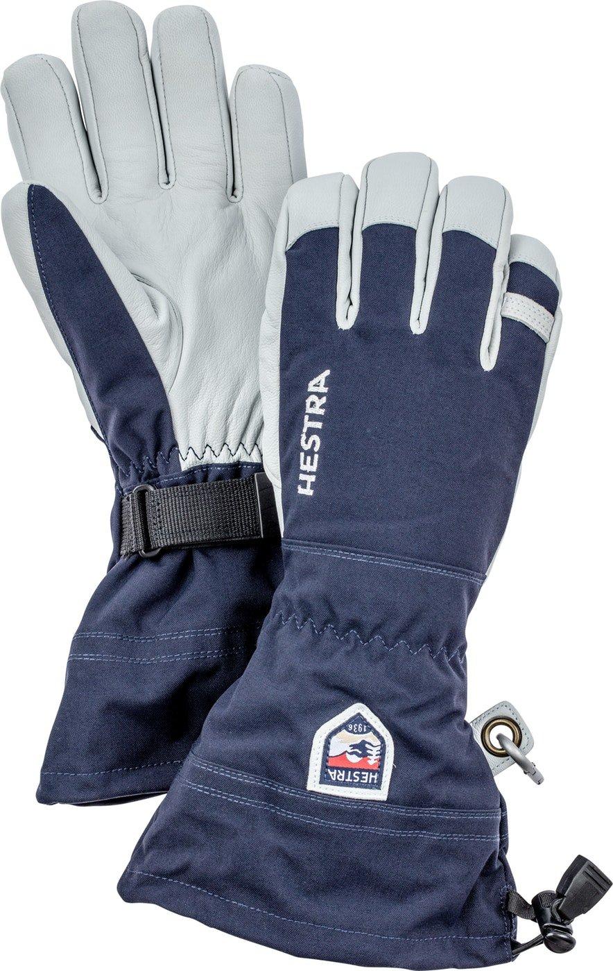 Hestra Army Leather Heli Ski Glove - Navy