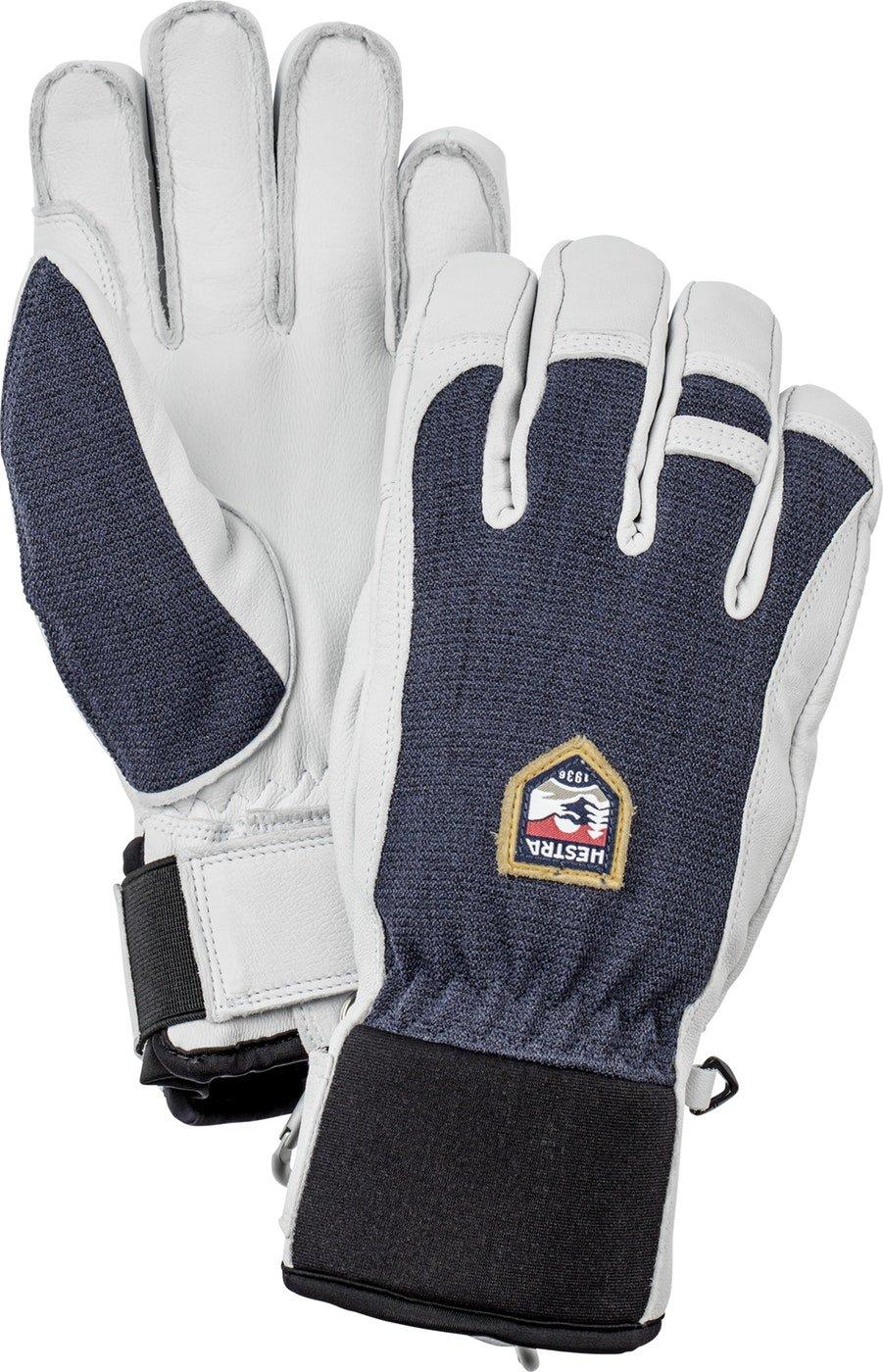 Hestra Army Leather Patrol Glove - Navy