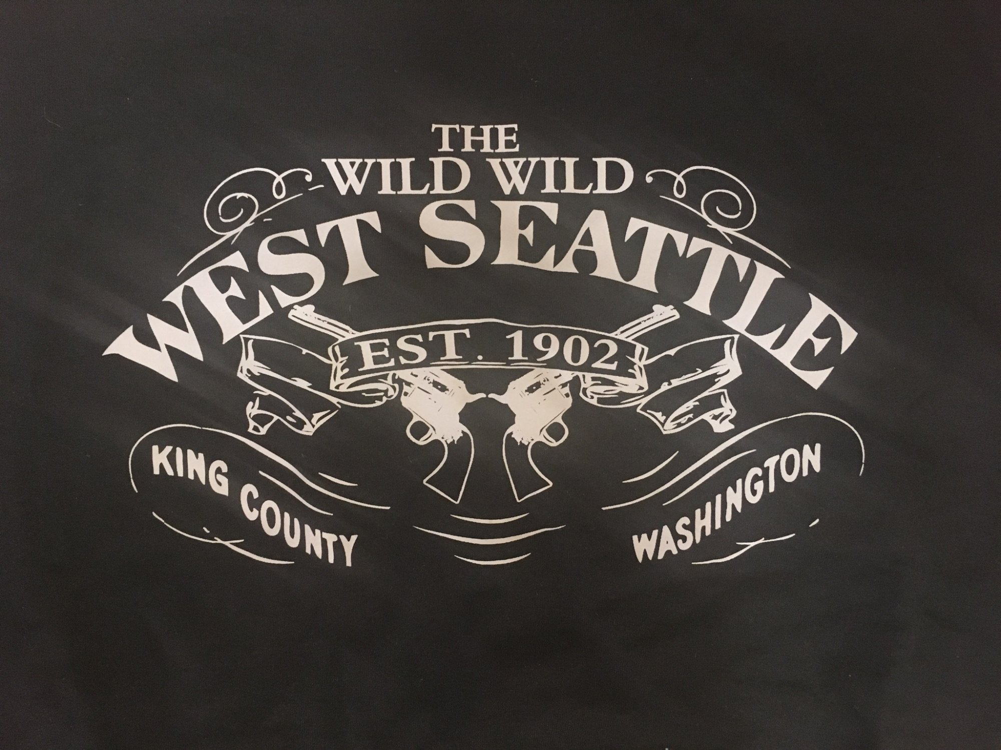 Wild Wild West Side Seattle Hoodie